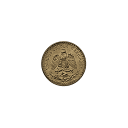 2 Peso Mexican Gold Coins